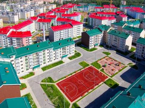 Жилой район Славянка